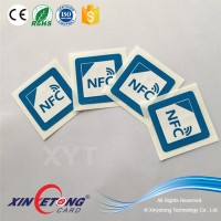 Circle NFC Sticker Dia20mm 13.56Mhz ISO14443A Ntag203/213