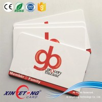 ISO Standard Size 13.56Mhz+900Mhz RFID Dual Card