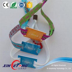 Ntag216 Chip NFC Wristband for Concert