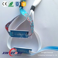 Ntag 213 Fabric NFC Wristband for access control application