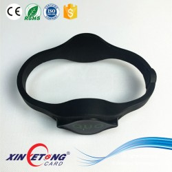 13.56Mhz 125Khz Dual RFID Wristband for access control