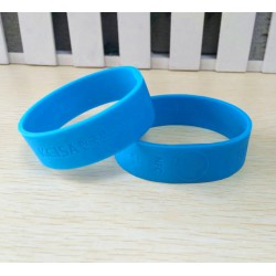 Popular Design RFID Silicon Wristband LF HF UHF