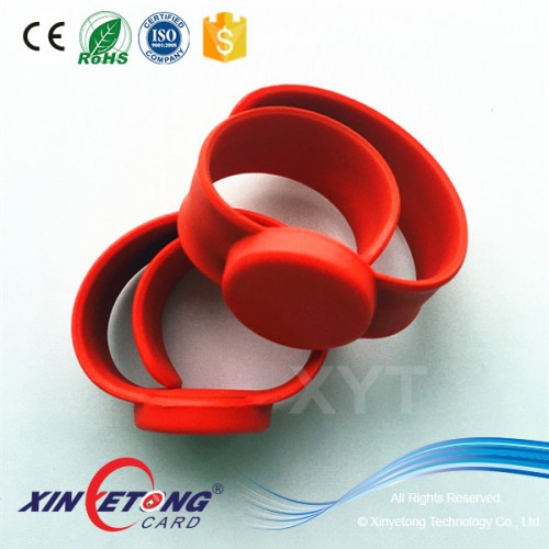 Logo printing  S50 Silicone RFID/NFC Wristband