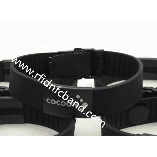 New RFID Dual Frequency Silicon Wristband