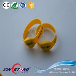 Dia50mm,55mm,65mm EM4200 RFID wristband