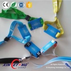 13.56Mhz 14443A MF Ultralight-C RFID Woven Fabric Wristband