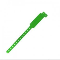 PVC Disposable RFID Wristband/NFC Wristband for Waterpark