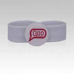 RFID Silicone Bracelet can be used for Hotel Access Control